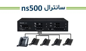 مرکز تلفن سانترال پاناسونیک مدل KX-NS500