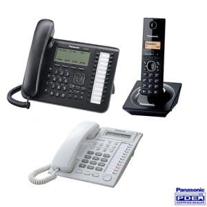 انواع تلفن سانترال پاناسونیک / تلفن هایبرید چیست؟
