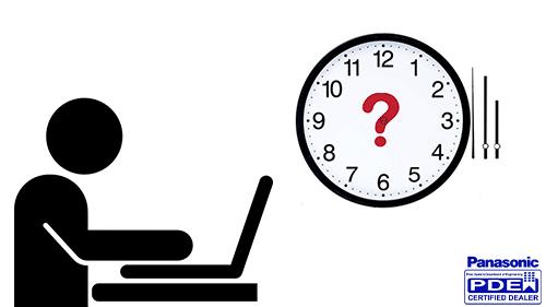زمانبندی سانترال 824 با نرم افزار