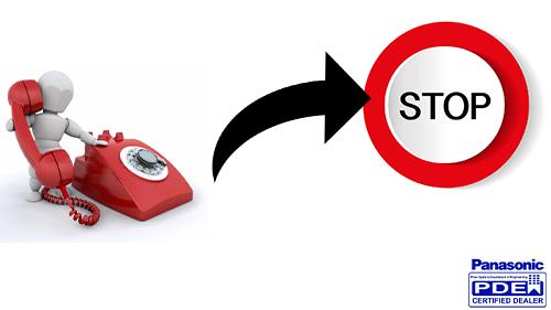 محدودیت زمان تماس داخلی با خط شهری سانترال