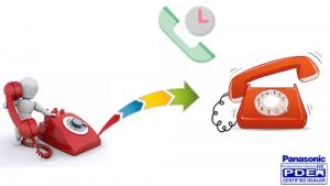 انتظار تماس (Call Waiting) سانترال TDA