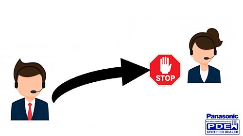 آموزش محدودیت تماس بین داخلی های سانترال TDA