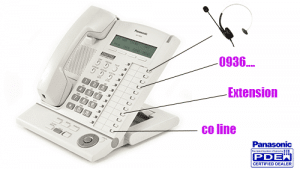 برنامه ریزی کلید های حافظه تلفن های دیجیتال پاناسونیک